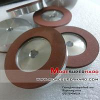 China resin diamond grinding wheels for thermal spraying alloy materials on sale