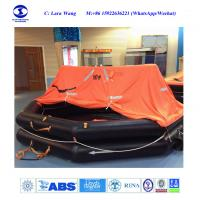 China CCS MED Certification SOLAS Marine Throw Overboard Type Inflatable Life Rafts wholesale