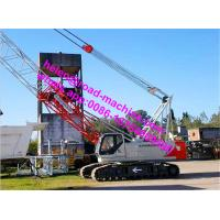 China Hydraulic Crawler Crane QUY150 (150T) With Length Of Main Boom 19-73m on sale