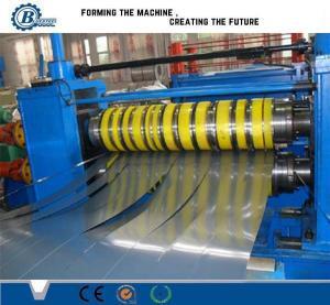 China Hydraulic Aluminum Steel Coil Slitting Line , Rolled Sheet Metal Slitting Machine wholesale