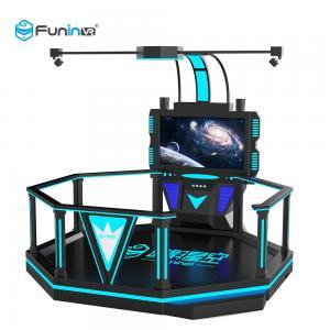 China 220V VR Space Walking Platform Game Machine 1 Player Blue With Black wholesale