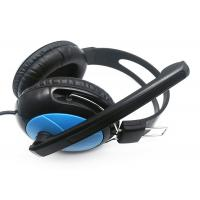 China Perfect Design Computer Gaming Headphones For Music Listening PC / MAC Support  on sale