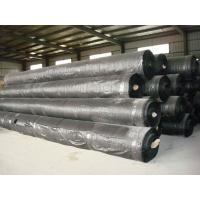 China Sediment Control black woven geotextile fabric prices on sale
