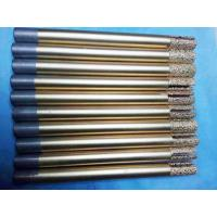 China CNC Diamond Ball End Mill Bits High Durability With Groove 8-8-20-120mm wholesale
