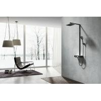 China AT-H003B thermostat controlled shower valves with hand shower top shower washing faucet rain shower wholesale