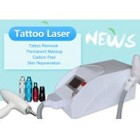 Buy cheap Professional Q Switched Nd Yag Laser Tattoo Removal / Carbon Peeling Machine from wholesalers