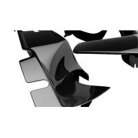 Buy cheap Black Carbon Fiber Parts , Replacement Carbon Fiber Accessories For Motorcycle from wholesalers