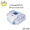 China 650nm&980nm Dual Wavelength Diode Lipo Laser Machine For Sale wholesale