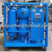 China cable oil purifier,Oil Filtration Device for Oil-immersed Transformers,insulation oil purifier with removal of gas,water on sale