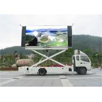 China Big Size Outdoor P6 LED Mobile Billboard 100 Levels Brightness Control wholesale