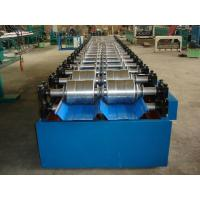 China G.I Steel Roof Panel Roll Forming Eqipment , Standing Seam Metal Roofing Sheet Roll Forming Machine wholesale
