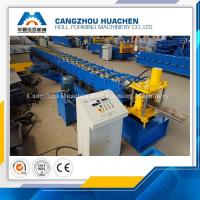 China High Performance Door Frame Roll Forming Machine PLC Control With Hydraulic Cutting wholesale