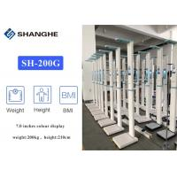 China Balance Connected 7.0 inch Weight And Height Measuring Machine wholesale
