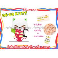 Orange Sweets Flavor Go Go Kitty Sweets Candy With Toys 2 Years Shelf Life