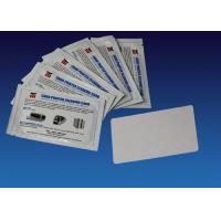 China Regular Cleaning Card Kit Zebra Printer Cleaning Kit 104531 001 White Color 54mm * 86mm wholesale