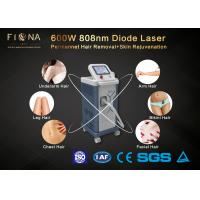 600W Diode Laser Machine , Spa Use Skin Rejuvenation Machine With Cooling System
