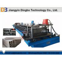 China 45 Degree Cutting Multi Punching Cable Tray Roll Forming Machine With PLC Control System wholesale