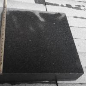 China Chinese Sesame Black G654 Padang Dark Granite Flamed Interlock Tiles For Outdoor wholesale