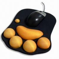 China Mouse Pad, Measuring 220 x 180 x 2mm, Made of Neoprene and Cloth wholesale