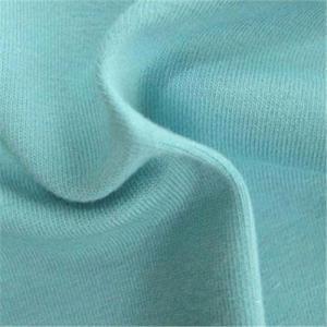 China Rib fabric /cotton knitting fabric/t-shirt fabric wholesale
