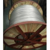 China Silver Aluminium Clad Steel Wire For Carrier Cable , Wooden Drum Packed wholesale