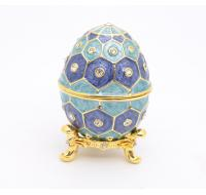 China Caja de regalo del huevo de Pascua del estaño de la caja de regalo del huevo de Pascua del metal de la caja de regalo del huevo de Pascua wholesale