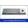 IP65 Industrial cherry keyswitch kiosk keyboard with trackball MKB-63CA-TB