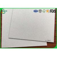 China High Density Corrugated Medium Paper 1.5mm - 2.5mm Large Bulky Grey Back Board wholesale
