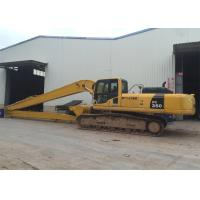 China Excavator Long Reach Boom For Komatsu PC3500 With 21meters and 4ton counterweight wholesale