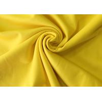 Buy cheap 244 Gsm Supima Cotton Fabric / Cotton Knit Fabric Mercerization Silk Soft Hand from wholesalers