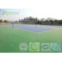China Acrylic Tennis Court Surface 2-7 Mm Thickness , Reducing Injury To Athletes wholesale