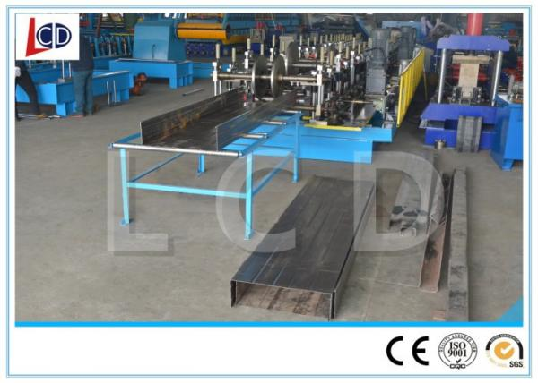 Quality Wire Mesh Cable Tray Manufacturing Machine , Cable Tray Forming Machine 16 * 2 * 1.6m for sale
