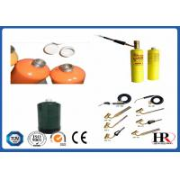 Buy cheap 14.1oz Steel Mapp Gas Canisters / 0.75l Empty Propane Gas Cylinder from wholesalers