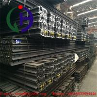 China Light Weight Q235 Grade Train Track Material , Length 6 to 12 m wholesale