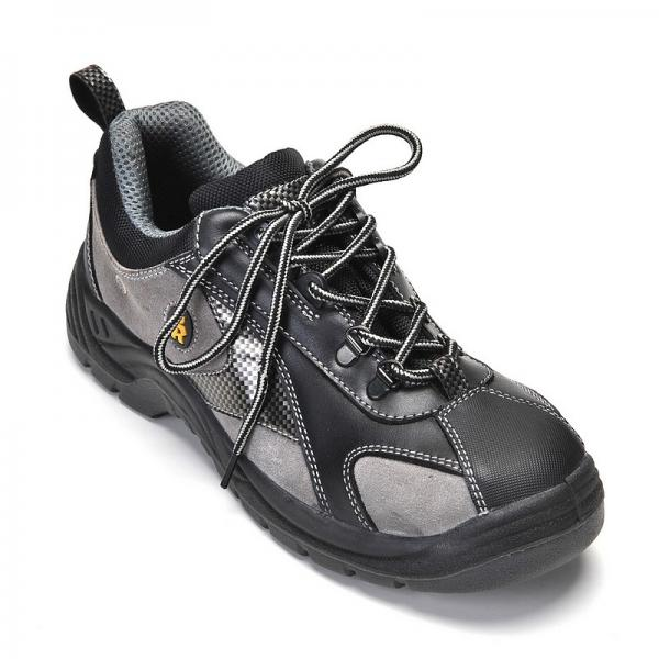 Quality Men's Safety shoes Steel Toe shoes work shoes for men black for sale