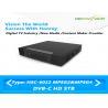 China Мини бескарточная сталь DVB C цифровая телевизионная приставка 75 Ω телетекст выход С OSD wholesale