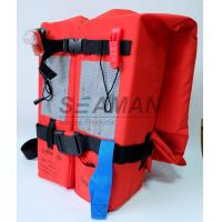 Buy cheap SOLAS / MED Approval 150N Adult Marine Life Jacket Type - I For Open Water Survival from wholesalers