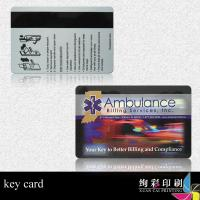 Buy cheap 125KHZ THRC12 Chip Smart RF PVC Plastic ID Cards 0.86mm For Bank / Clubs from wholesalers