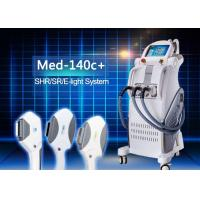 China E-light IPL RF Permanent Hair Removal Beauty Equipment with RF Power 50w IPL Power 2500w on sale