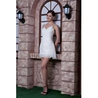 China High End Short Mini Plus Size Cocktail Party Dresses with Beads for Prom on sale