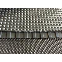 China Pyramid Floor Matting Rubber Sheet Roll SBR NR NBR EPDM Acid Resistance wholesale