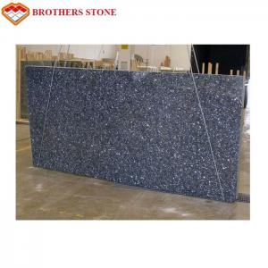China Custom Size Polished Granite Stone , Norwegian Blue Pearl Granite Slabs Tiles wholesale