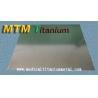 China stock Titanium Alloy Sheet wholesale