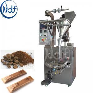 220v Automatic Coffee Packing Machine / Salt Packing Machine 25-145mm Film Width