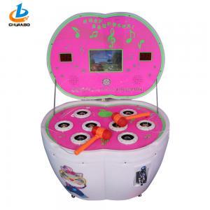 China Outdoor Playground Children'S Arcade Machines , Pink Hammer Game Machine on sale