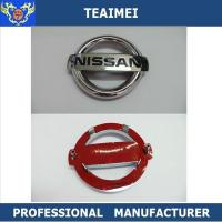 China High Temperature ABS 3D Chrome Nissan Custom Car Emblems For Decoration wholesale