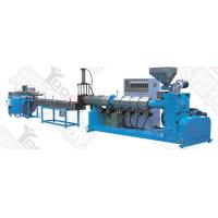 China ABB Inverter Plastic Recycling Pellet Machine With Drying Function Low Noise wholesale