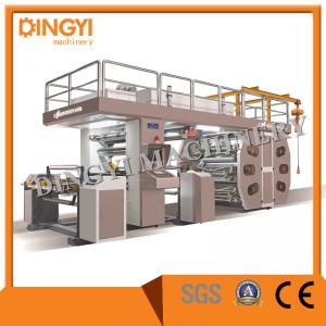 China 760MM Foil PVC UV Stack Six Color High Speed Ci Flexo Printing Machine on sale