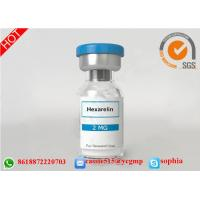 China HGH Human Growth Hormone Peptides , Lyophilized Powder Hexarelin 140703-51-1 wholesale
