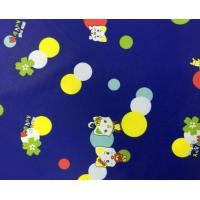 China Printed Polyester Lining Fabric 310T Poly Taffeta 50 * 50D 63 Gsm Good Air Permeability wholesale